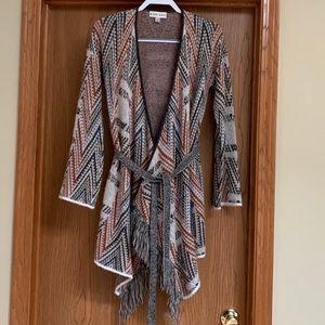 Knox Rose - Fringe sweater.